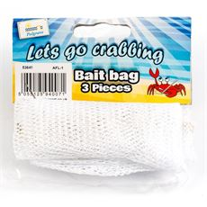 Three Crab Line Bait Bags