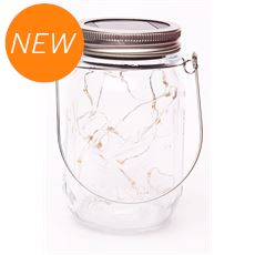 Solar Fairy Light Jar