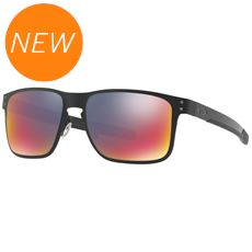 Holbrook Metal Sunglasses (Red Iridium Lens)