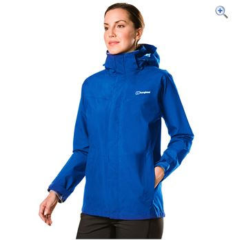 Berghaus Women's Hillwalker Long Jacket IA – Size: 12 – Colour: GALAXY BLUE