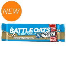 Protein Flapjack 70g (Cookies & Cream)