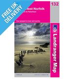 Landranger Map 132 North West Norfolk, King's Lynn & Fakenham