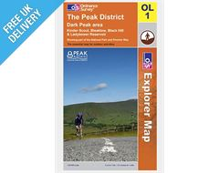 Explorer Map OL1 Peak District, Dark Peak