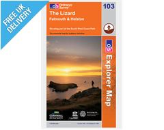 Explorer Map OL103 The Lizard, Falmouth & Helston