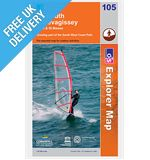 Explorer Map OL105 Falmouth and Mevagissey, Truro &amp; St Mawes
