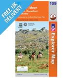Explorer Map OL109 Bodmin Moor, Bodmin, Camelford &amp; Liskeard