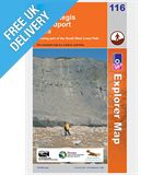 Explorer Map OL116 Lyme Regis and Bridport (Chard)
