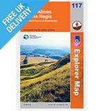 Explorer Map OL117 Cerne Abbas &amp; Bere Regis)