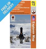 Explorer Map OL12 Brecon Beacons National Park (Western area)