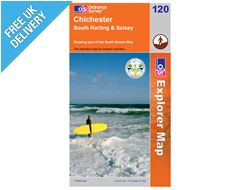 Explorer Map OL120 Chichester (South Harting & Selsey)