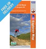 Explorer Map OL112 Brighton and Hove (Lewes &amp; Burgess Hill)