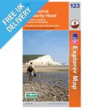 Explorer Map OL123 Eastbourne &amp; Beachy Head