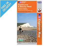 Explorer Map OL123 Eastbourne & Beachy Head