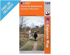 Explorer Map 129 Yeovil and Sherborne