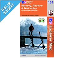 Explorer Map 131  Romsey, Andover & Test Valley