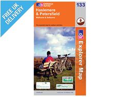 Explorer Map 133 Haslemere and Petersfield