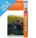 Explorer Map 134 Crawley and Horsham