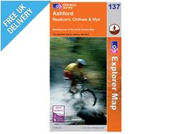 Explorer Map 137 Ashford