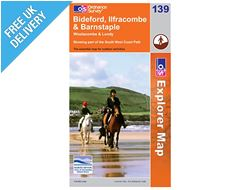 Explorer Map 139 Bideford, Ilfracombe & Barnstaple