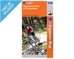Explorer Map 140 Quantock Hills & Bridgwater