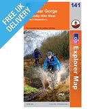 Explorer Map 141 Cheddar Gorge &amp; Mendip Hills West