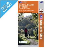 Explorer Map 146 Dorking, Box Hill & Reigate