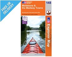 Explorer Map 148 Maidstone & the Medway Towns