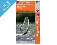Explorer Map 152 Newport & Pontypool