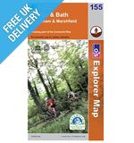 Explorer Map 155 Bristol & Bath