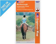 Explorer Map 157 Marlborough & Savernake Forest