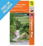 Explorer Map OL16 The Cheviot Hills
