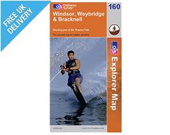 Explorer Map 160 Windsor, Weybridge & Bracknell