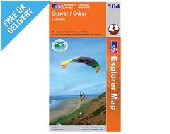 Explorer Map 164 Gower (Gwyr)