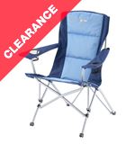 Nebraska Camping Chair (Blue)