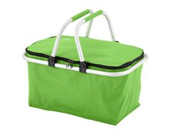 Folding Picnic Basket (Lime)