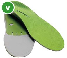 Trim-to-Fit Premium Insoles, GREEN