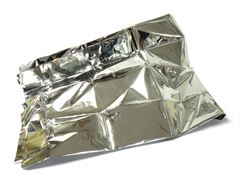 Silver Emergency Survival Blanket