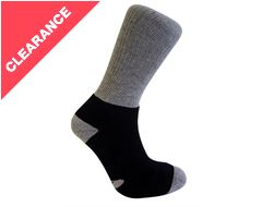 Double Layer Wool Blend Walking Socks
