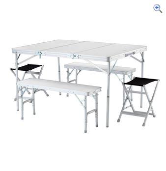 Hi Gear Elite Picnic Table Set