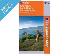 Explorer 413 Knoydart Loch Hourn Map Book