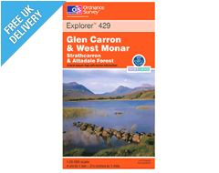 Explorer 429 Glen Carron Map Book