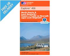 Explorer 456 North Harris and Loch Map Book