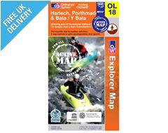 Explorer Active OL18 Harlech Waterproof Map Book
