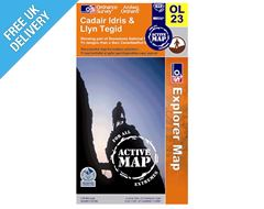 Explorer Active OL23 Cadair Waterproof Map Book