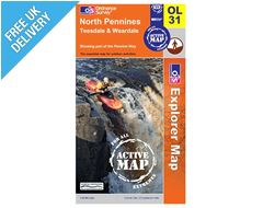Explorer Active OL31 North Pennine Waterproof Map Book