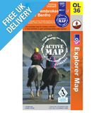 Explorer Active OL36 South Pembrokshire Waterproof Map Book