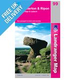 Landranger 99 Northallerton and Ripon Map Book