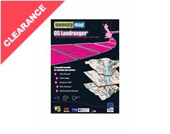 Landranger Half South CD Rom