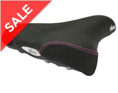 Gel Comfort Women's Saddle with Steel Rails