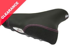 Women's Gel Saddle with Steel Rails